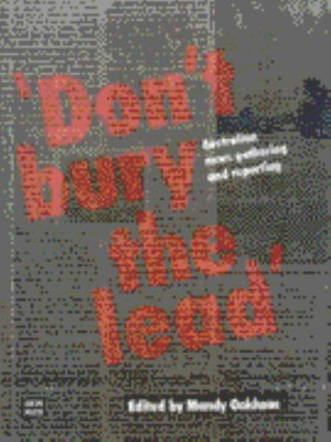 Cover of Don't Bury the Lead