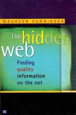 Cover of The Hidden Web
