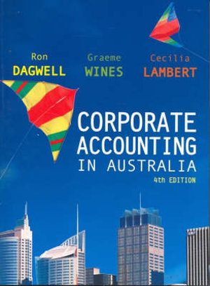 Cover of Corporate Accounting in Australia