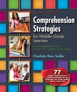 Cover of Comprehension Strategies for Middle Grade Learners