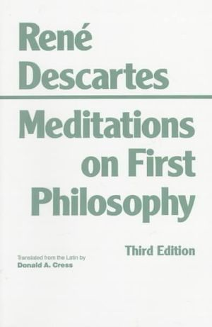 Cover of Meditations on First Philosophy (Third Edition)