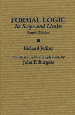 Cover of Formal Logic