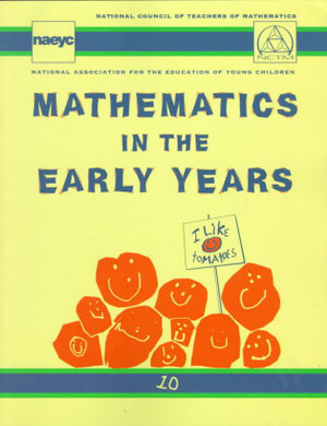 Cover of Mathematics in the Early Years