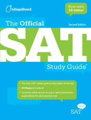 Cover of The Official SAT Study Guide
