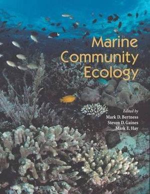 Cover of Marine Community Ecology