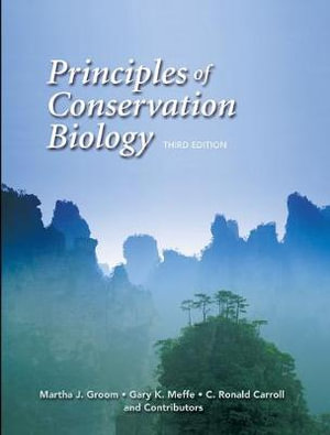 Cover of Principles of Conservation Biology