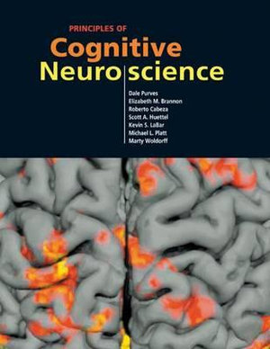 Cover of Principles of cognitive neuroscience
