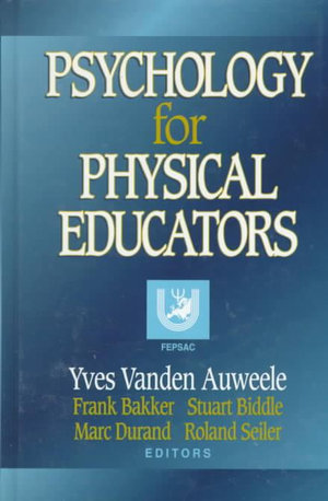 Cover of Psychology for Physical Educators