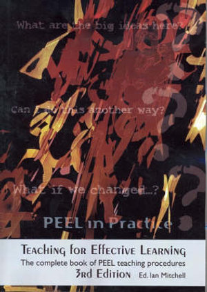 Cover of Teaching for Effective Learning