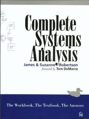 Cover of Complete systems analysis
