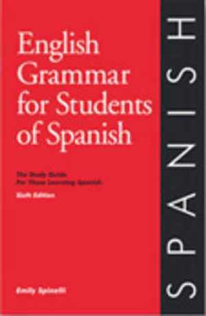 Cover of English Grammar for Students of Spanish