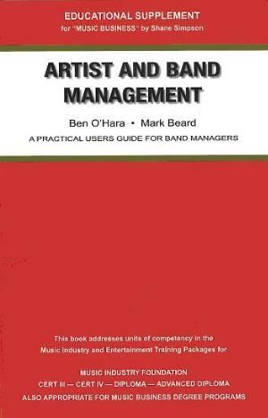 Cover of Artist and Band Management