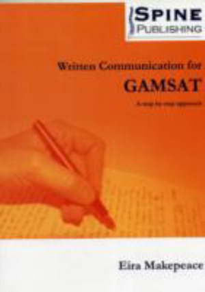 Cover of Written Communication for GAMSAT