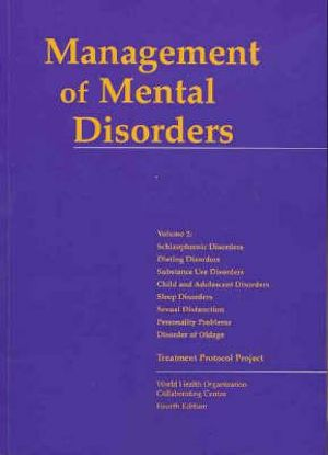 Cover of Management of Mental Disorders