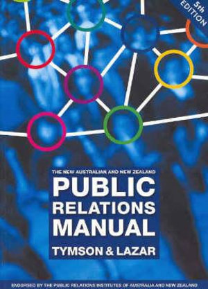 Cover of The New Australian and New Zealand Public Relations Manual