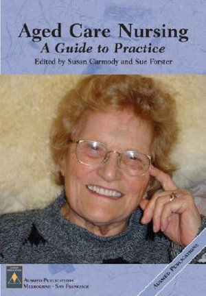 Cover of Aged care nursing