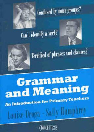 Cover of Grammar and Meaning