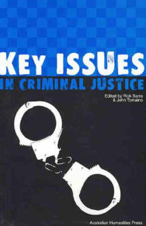 Cover of Key Issues in Criminal Justice