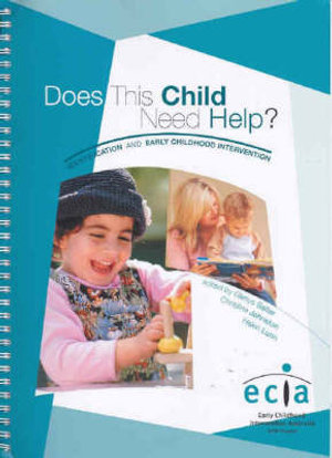 Cover of Does This Child Need Help?