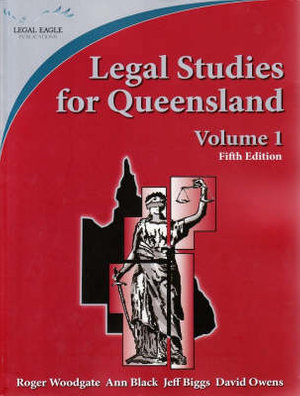 Cover of Legal Studies for Queensland