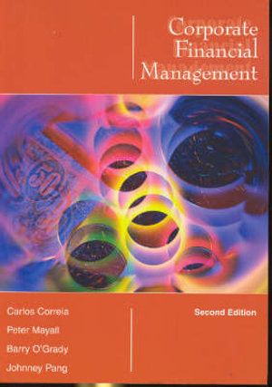 Cover of Corporate Financial Management