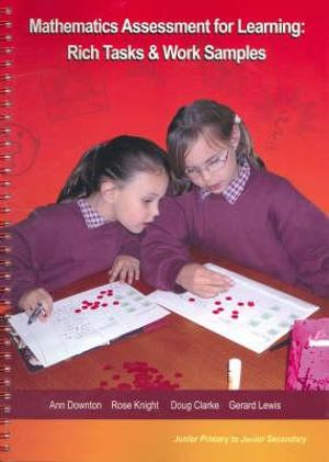 Cover of Mathematics Assessment for Learning