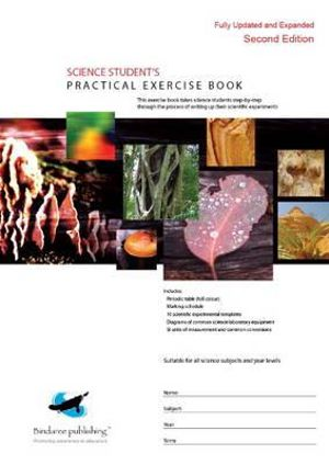 Cover of Science Student's Practical Exercise Book
