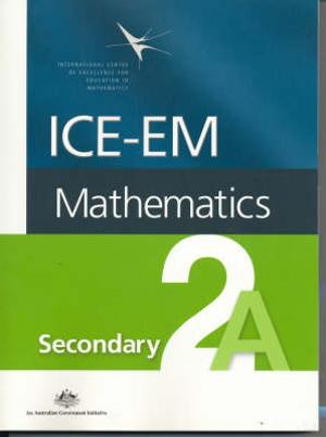 Cover of ICE-EM Mathematics