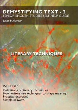 Cover of Literary techniques