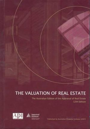 Cover of The Valuation of Real Estate