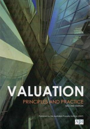 Cover of Valuation Principles and Practice