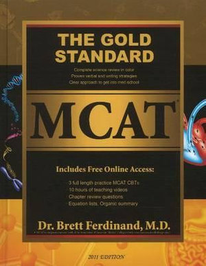 Cover of The Gold Standard MCAT