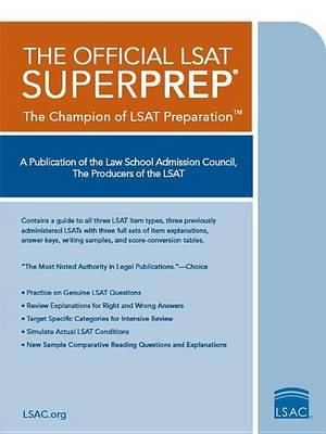 Cover of The Official LSAT SuperPrep