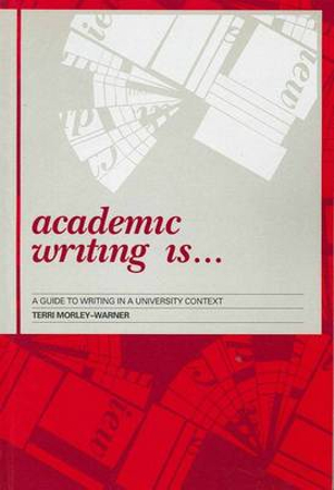 Cover of Academic Writing is --