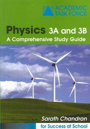 Cover of Physics 3A and 3B Study Guide
