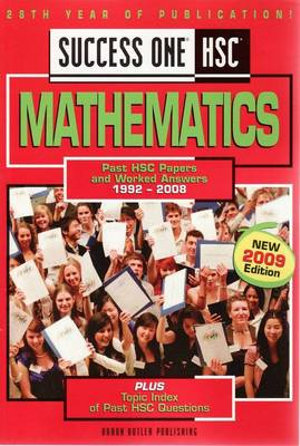 Cover of Success One HSC Mathematics
