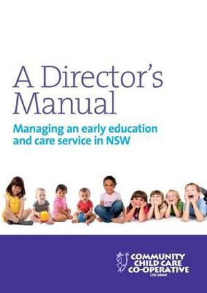 Cover of A Director's Manual