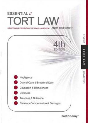 Cover of Essential Tort Law