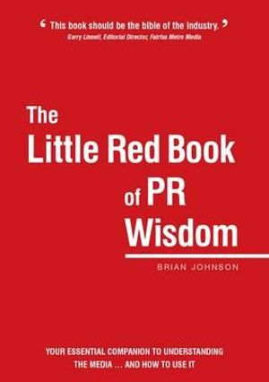 Cover of The Little Red Book of PR Wisdom