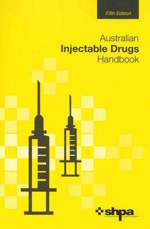 Cover of Australian Injectable Drugs Handbook