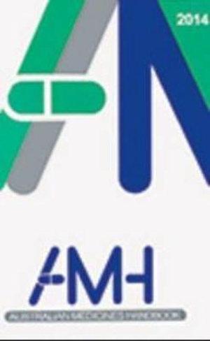 Cover of Australian Medicines Handbook 2014