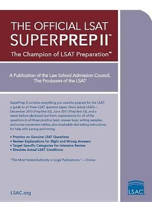 Cover of The Official LSAT Superprep II: The Champion of LSAT Prep