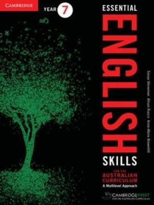 Cover of Essential English Skills for the Australian Curriculum Year 7