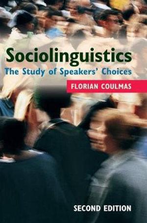 Cover of Sociolinguistics