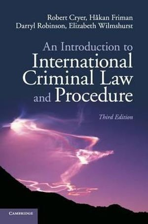Cover of An Introduction to International Criminal Law and Procedure