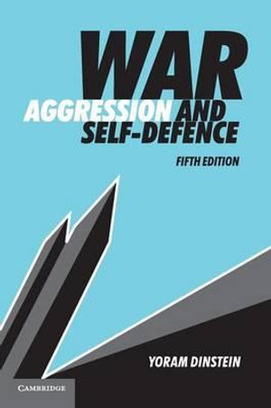 Cover of War, Aggression and Self-Defence