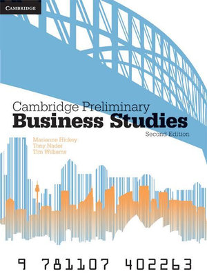 Cover of Cambridge Preliminary Business Studies 2ed Pack