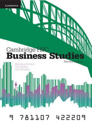 Cover of Cambridge HSC Business Studies 2ed Pack