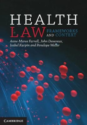 Cover of Health Law