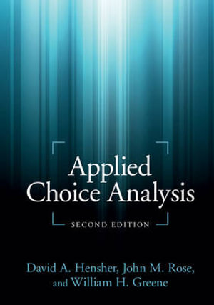Cover of Applied Choice Analysis